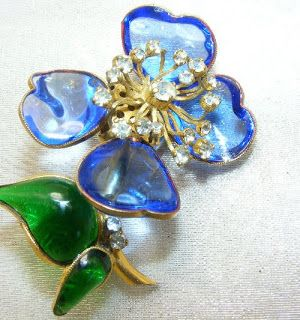 vintage-brooches: Maison Gripoix Brooch