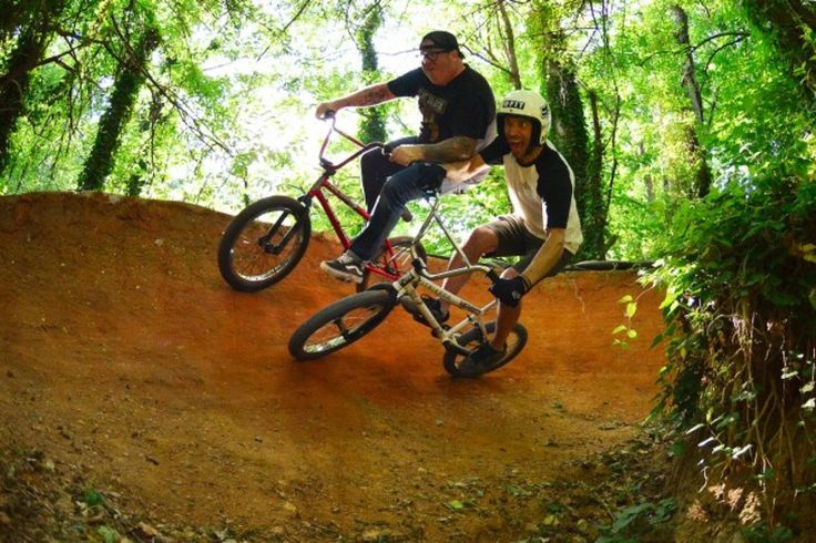 bmx trails dirt jumping BF FBM