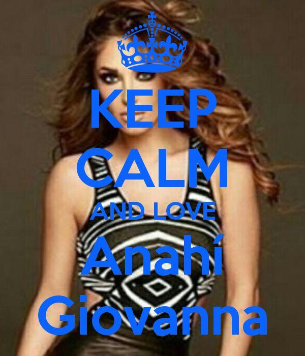 Keep calm: Anahí Giovanna (22)