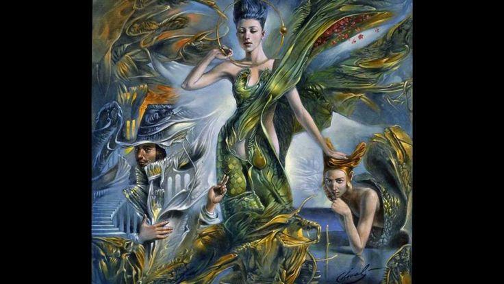 Michael Cheval surreal Art ....a  new ''Salvador Dali''...amasing