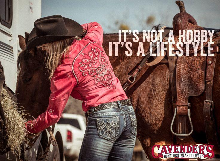 It's not a hobby, it's a lifestyle. #cavenders #dontjustwearitliveit
