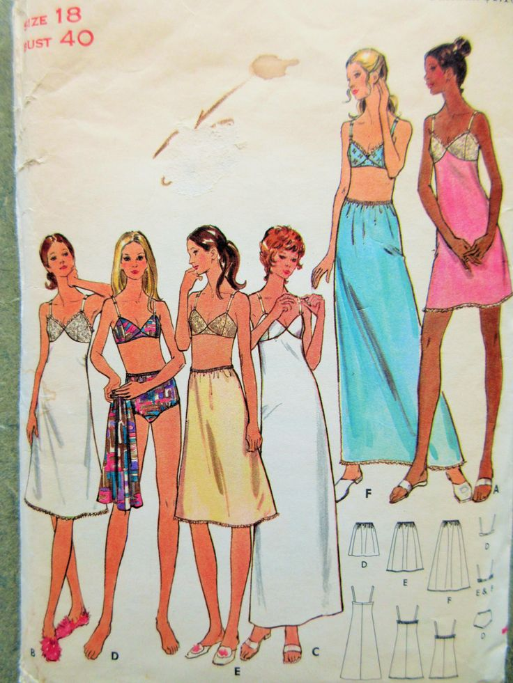 Famous Plus Size Lingerie Sewing Patterns Ornament - Easy Scarf ...