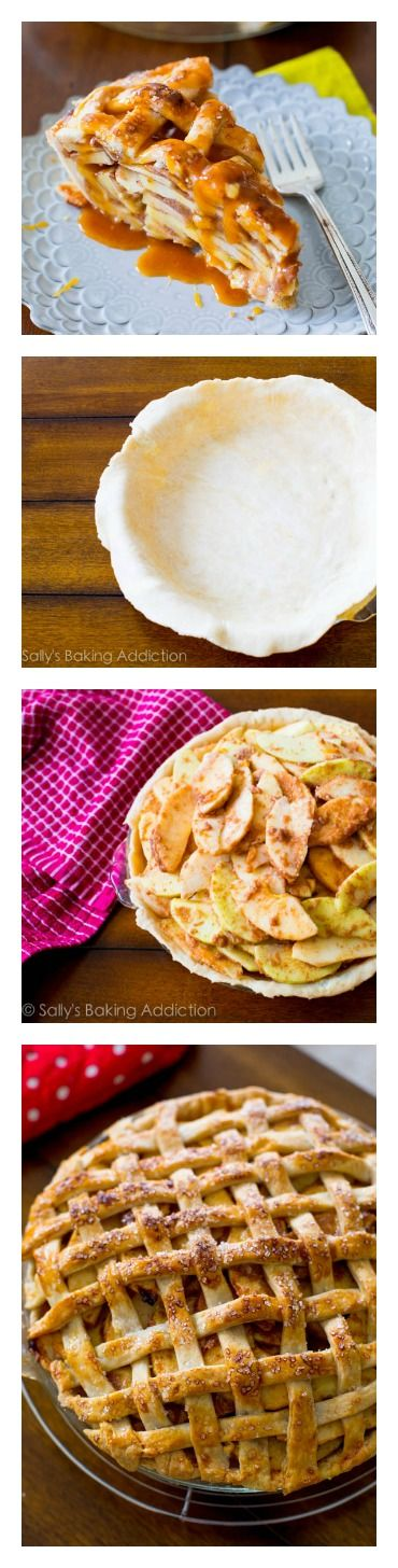 How to make Salted Caramel Apple Pie by sallysbakingaddiction.com. Helpful tips and instructions, delicious pie!