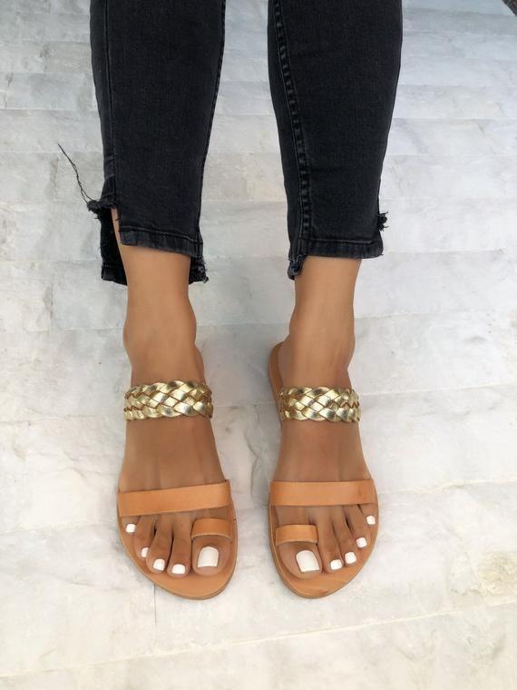 32df11121a50a Greek Leather Sandals, Gladiator Sandals, Handmade Sandals, Summer ...