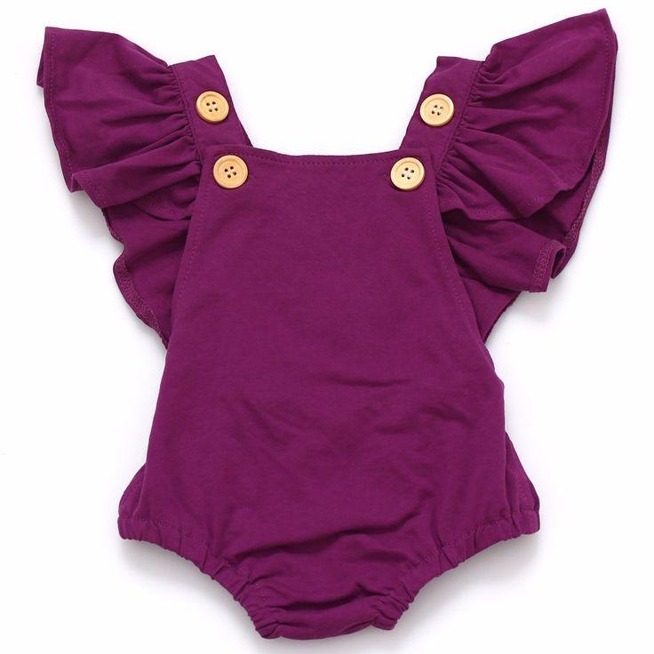 Детский комбинезон в горошек одежда для младенцев девочек летний детский ромпер костюм 0 2года купить на AliExpress