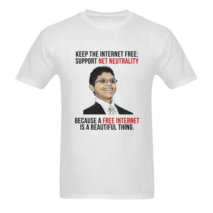 Net Neutrality Arrows and Chocolate Rain Men's T-shirt
