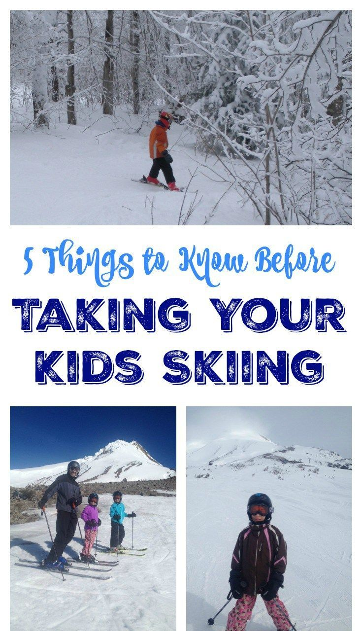 5 Things to Know Before Taking Your Kids Skiing