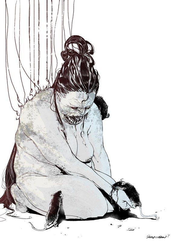 Despair of The Endless by Sara Pichelli by AshcanAllstars.deviantart.com on @deviantART