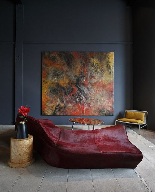 Zaha Hadid, Piero Lissoni, Ettore Sottsass, Campana brothers. Artwork by Ming Ren. Exhibition by modernexpert --ZAHA HADID MORAINE SOFA