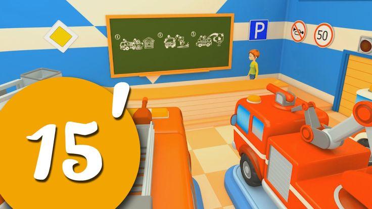 Lily insegna ai camion come diventare dei bravissimi camion dei pompieri! - cartoni animati per bambini Lily è una maestra bravissima ed insegna nella scuola per camion dei pompieri! come si fa a diventare un bravo camion dei pompieri?  Nel cartone dei piccoli c'è un evento speciale! La prima compilat