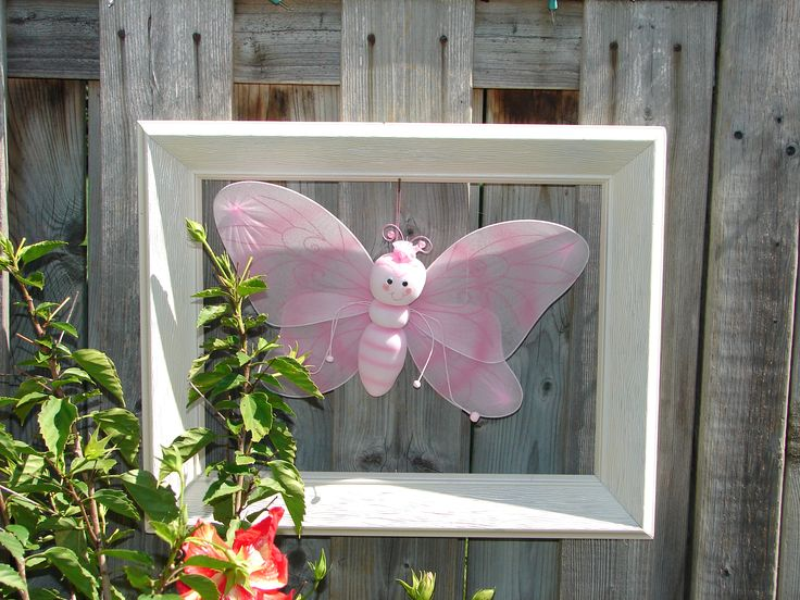 framed $ Store butterfly for decoration