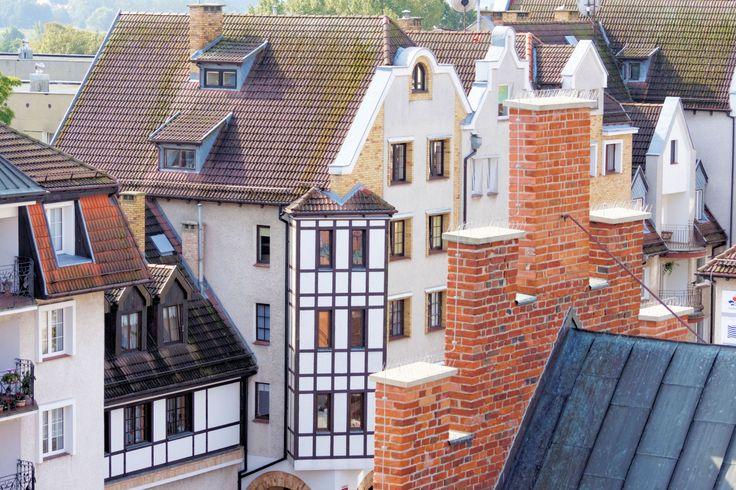 Kołobrzeska Starówka. Photo by GB #kolobrzeg #architektura