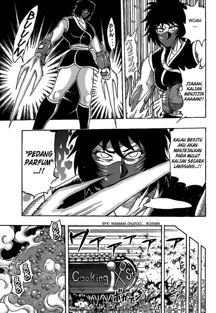 Baca manga komik Toriko Chapter 221 Bahasa Indonesia Read
