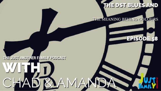 This week on the podcast: Why we dislike daylight savings time, the meanings behind colours, appropriate anniversary gifts and the new Captain America trailer.