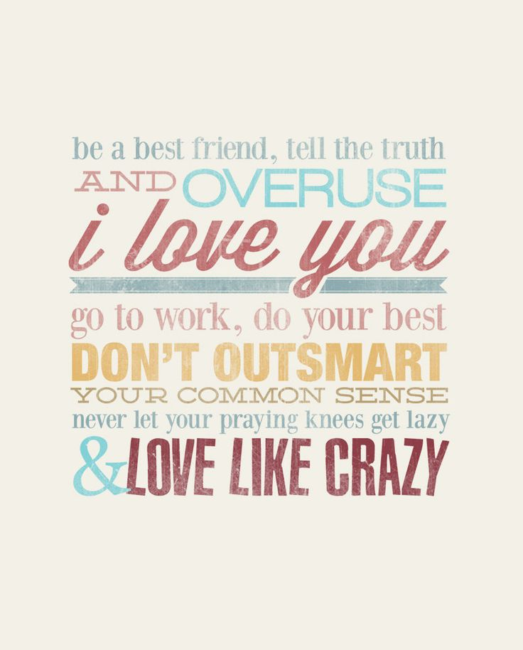 Love Like Crazy - Rustic - Vintage Style- Typographic Digital Print Download - PDF File - Country Song Lyrics. $7.00, via Etsy.