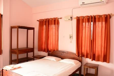 Check out this awesome listing on Airbnb: 2 BHK AC Family Apartment Morjim Beach Goa - Apartments for Rent in Morjim