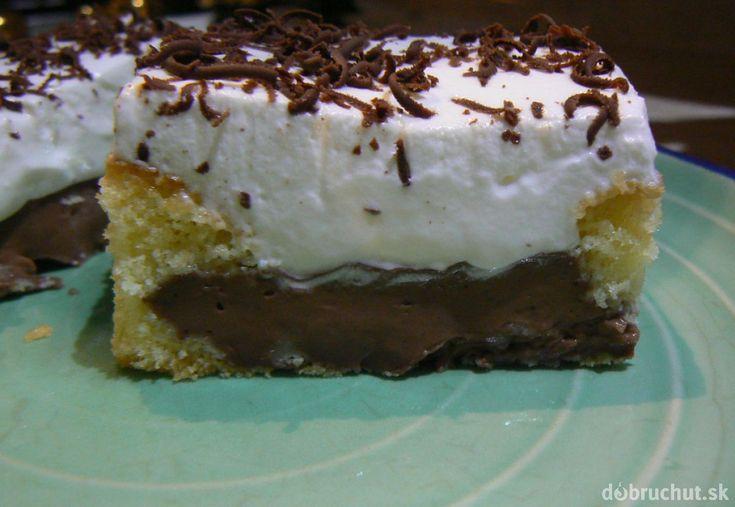 Fotorecept: Pudingový koláč
