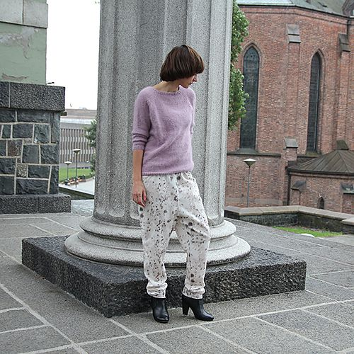 Ravelry: Classic Angora Sweater pattern by Anna & Heidi Pickles