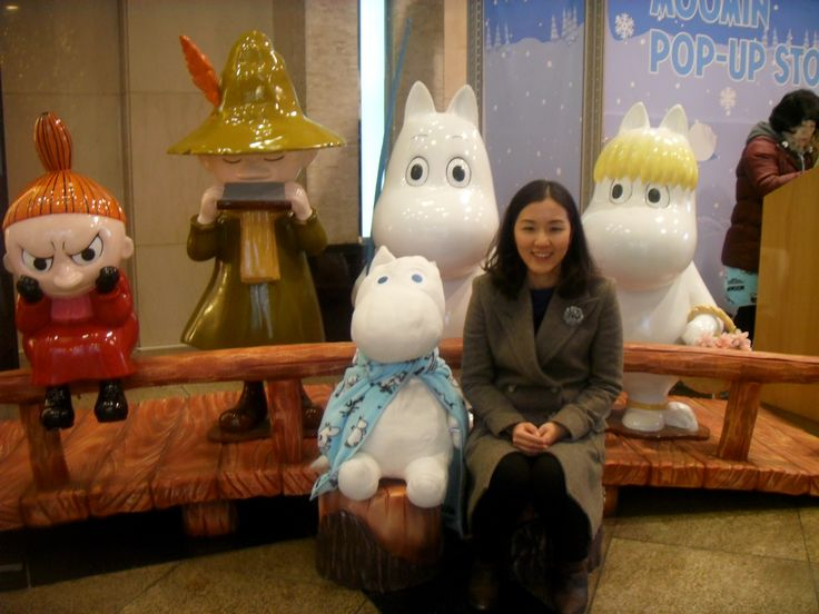 Lotte Department Store main branch Moomin character popup store.
