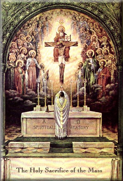 """Holy Mass...St. John Vianney, """"When we receive Holy Communion, we experience something extraordinary - a joy, a fragrance, a well being that thrills the whole body and causes it to exalt."""" """"If we really understood the Mass, we would die of joy."""" """"There is nothing so great as the Eucharist. If God had something more precious, He would have given it to us."""" """"When we have been to Holy Communion, the balm of love envelops the soul as the flower envelops the bee."""""""