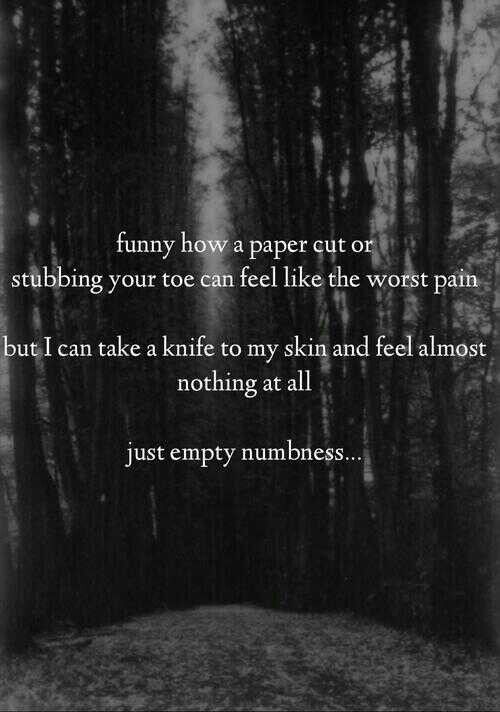 Self-Harm+Cutting+Quotes | But cutting Yourself W A