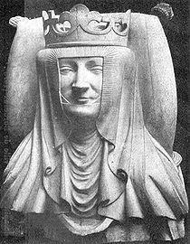 Isabelle von Ingolstadt von Wittelsbach, granddaughter of HRE Charles IV and Mathilde von Hapsburg, a member of the Hohenzollern dynasty ... 19th GGM