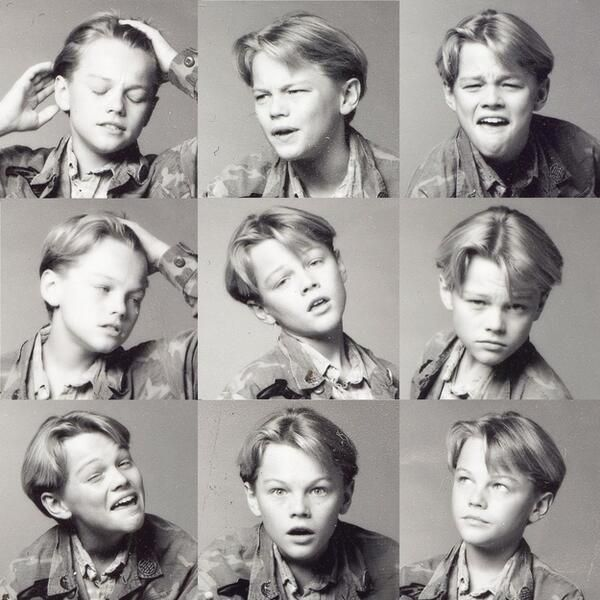 A young leo showing off his emotional range.