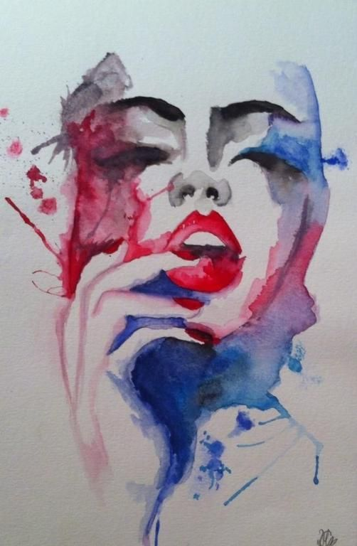8 abstract watercolor techniques to try portrait search for Abstract watercolor painting tutorial