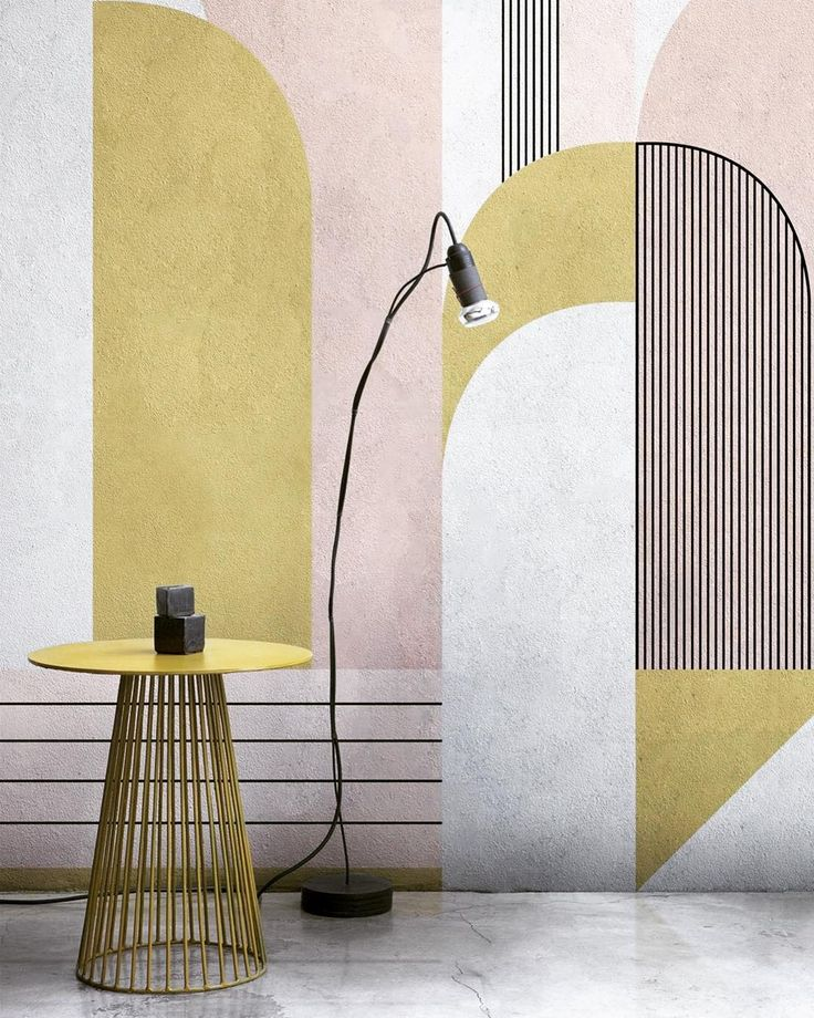 Shading and clean colours geometrical shapes and artistic inspiration totally modern images and images from the past:the @londonartwallpaper 2017 collection is a trip around the world and its ancestral history with the mingling of urban and natural elements.  #archiproducts #londonart #wallpapers