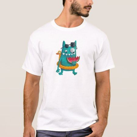 Summer Beach Monster T-Shirt - tap to personalize and get yours
