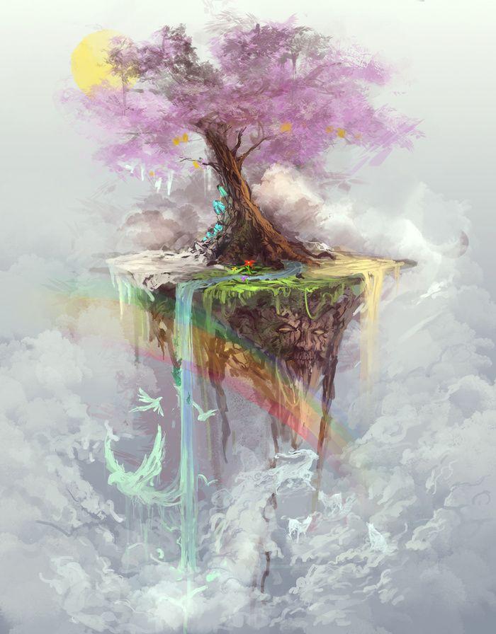 """Tree of Life"" Art Print by Jason Nguyen on Society6."