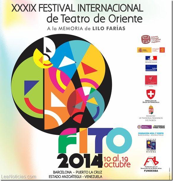 Agrupaciones nacionales e internacionales tomarán las tablas en el Festival Internacional de Teatro de Oriente - http://www.leanoticias.com/2014/10/01/agrupaciones-nacionales-e-internacionales-tomaran-las-tablas-en-el-festival-internacional-de-teatro-de-oriente/