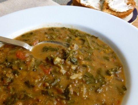 ... lentil and swiss chard soup lentil swiss lentil bean easy lentil red