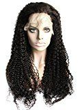 Ms Fenda Hair High Density Kinky Curly Dark Brown Color #2 Medium Size Cap 1Piece/lot Remy Virgin Peruvian Human Hair Lace Front Wigs (18inch)