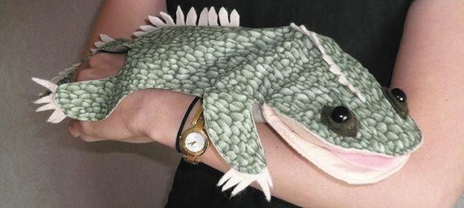 Tuatara Hand Puppet