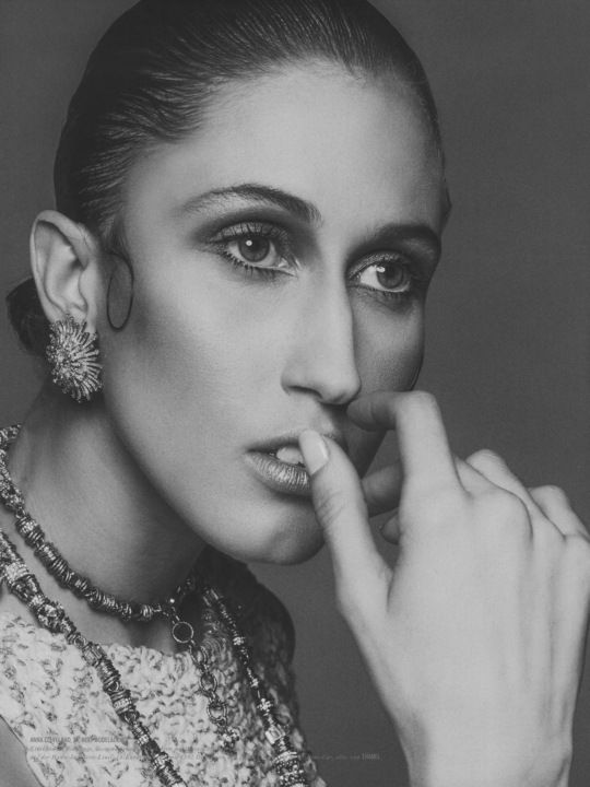 Anna Cleveland | anna cleveland | Pinterest | Models, York and Face beauty