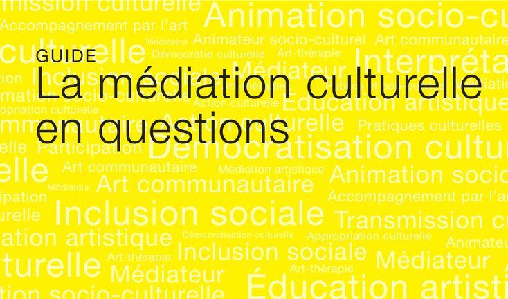 Guides et lexiques - Médiation culturelle