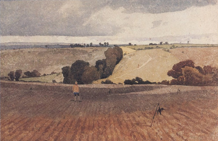 ca. 1808 A Ploughed Field| John Sell Cotman