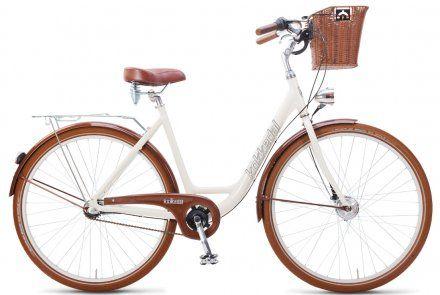 Oj to mój, mój - to dla mnie prezent :) Rower miejski z koszykiem :) Taki chcę, aby zwiedzać rodzinnie okolicę, w której mieszkamy i móc sobie na zakupy pojechać, zadając przy tym szyku :) Viva Cream - Rowery Kokkedal - jakbyś szukał Mikołaju to podaję namiary na sklep :)