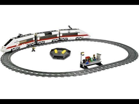 Lego 7897 Passenger Train Instruction Manual