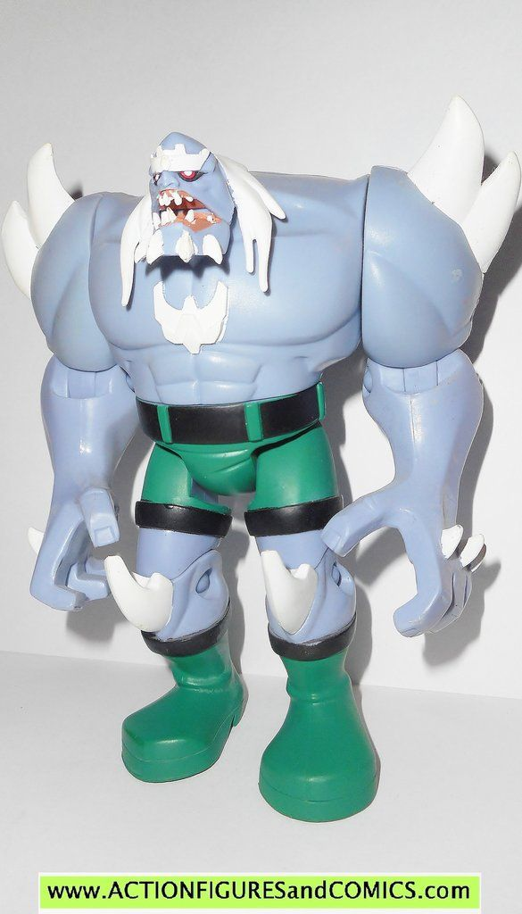 justice league unlimited DOOMSDAY superman animated mattel dc universe