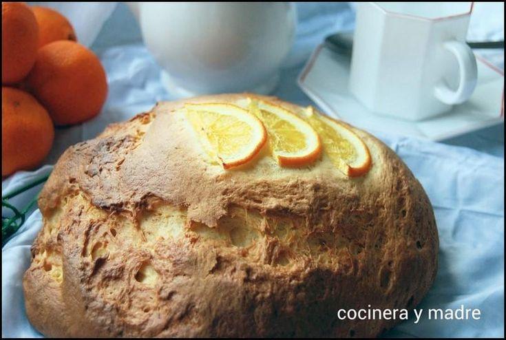 pan dulce de naranja Pan dulce de naranja