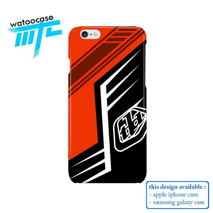 Troy Lee Design Orange Phone Case | Apple iPhone 4 4s 5 5s 5c 6 6s Plus Samsung Galaxy S3 S4 S5 S6 S7 EDGE Hard Case