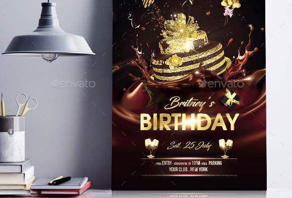 Birthday Party Flyer 22322669 Psd Openload Zippyshare Party Flyer Birthday Parties Birthday