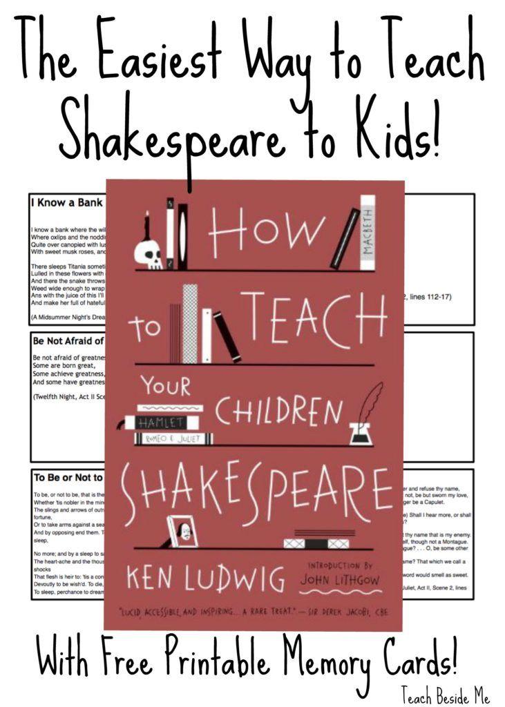 Teaching Shakespeare to Kids