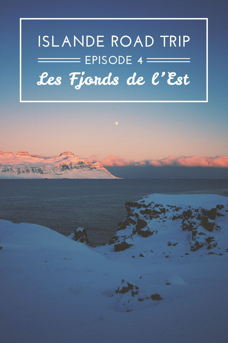 Un article plein de belles photos: Islande Road Trip en hiver: Les fjords de l'est http://www.vie-nomade.com/2010/islande-road-trip-fjords-est/