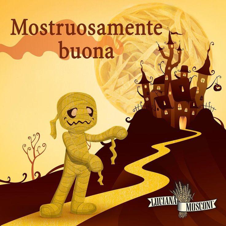 Questa notte si leveranno #mummie di #tagliatelle dai vostri piatti, questa notte brilleranno nidi pieni nel cielo, questa sarà una notte mostruosamente... buona!! Happy #Halloween a tutti!! #LucianaMosconi #SignoraDelleTagliatelle