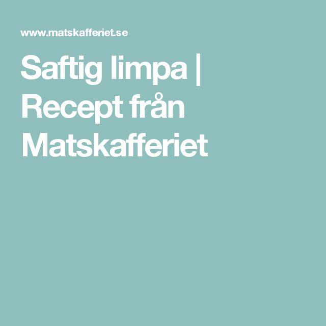 Saftig limpa | Recept från Matskafferiet