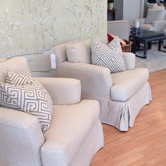 Lovely Quatrine Slipcover Chairs #quatrine #dallas #slipcovers