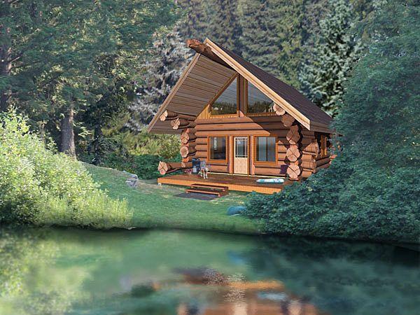 17 Best Images About Log Cabin Plans On Pinterest Log